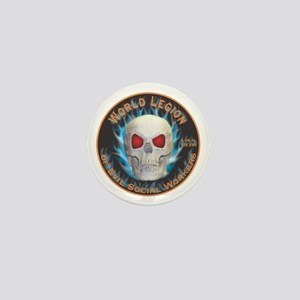 Legion of Evil Social Workers Mini Button