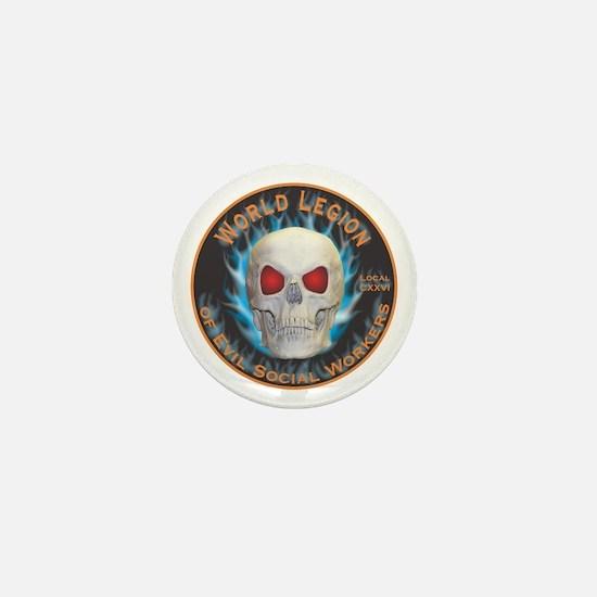 Legion of Evil Social Workers Mini Button