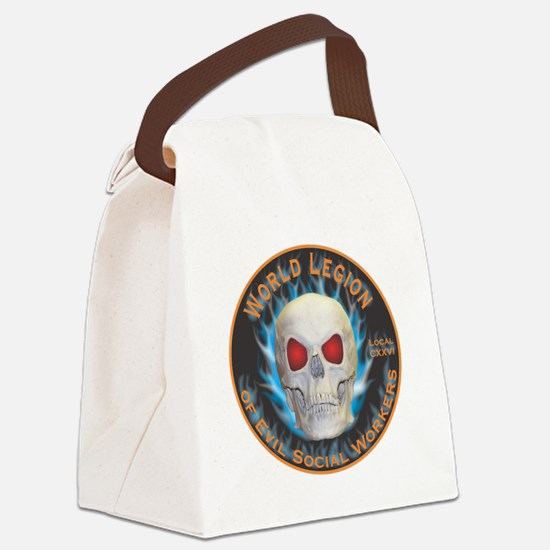 Legion of Evil Social Workers Canvas Lunch Bag