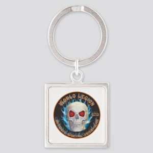Legion of Evil Social Workers Square Keychain