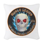 Legion of Evil Truck Drivers Woven Throw Pillow
