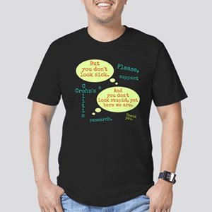 Sick And Stupid Fitted T-Shirt