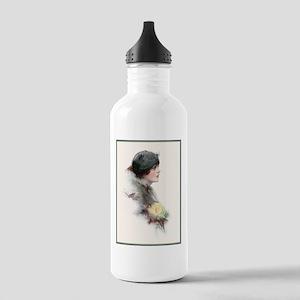 Victorian Girl #2 Water Bottle
