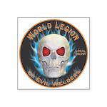 Legion of Evil Welders Square Sticker 3