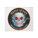 Legion of Evil Welders Throw Blanket