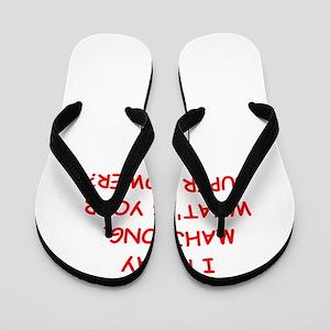 MAHJOMG2 Flip Flops