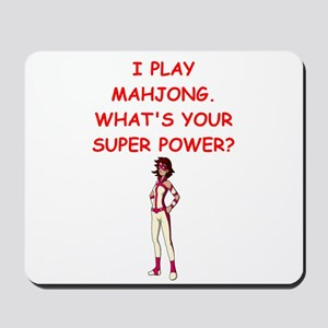 MAHJOMG2 Mousepad