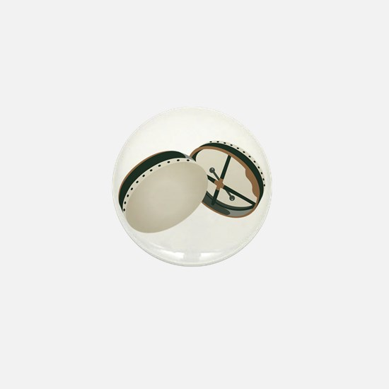 Irish Bodhran Drums Mini Button