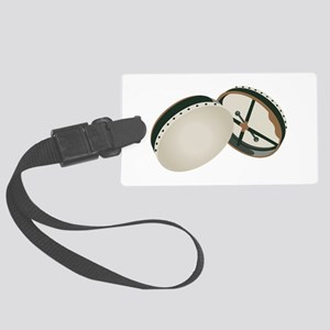 Irish Bodhran Drums Luggage Tag
