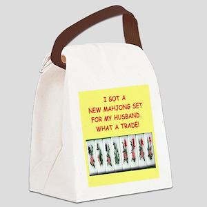 MAHJONG2 Canvas Lunch Bag