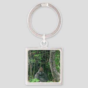 Thinking Gorilla Keychains