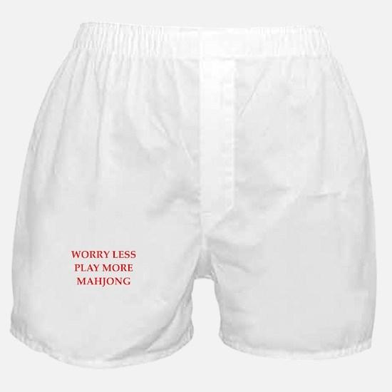 MAHJONG2 Boxer Shorts