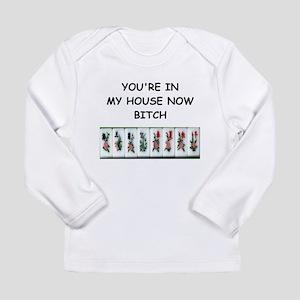 mahjong Long Sleeve T-Shirt
