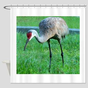 Sand Crane Shower Curtain