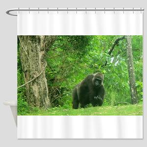 Bring It On Gorilla Shower Curtain