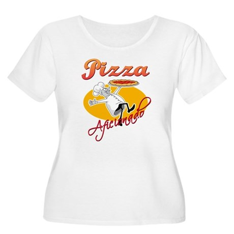 Pizza Aficionado Women's Plus Size Scoop Neck T-Sh