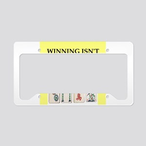 mahjong License Plate Holder