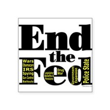End the Fed Upgraded Sticker