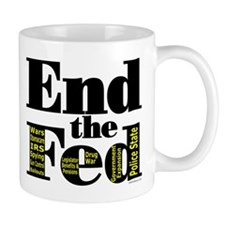 End the Fed Upgraded Mugs