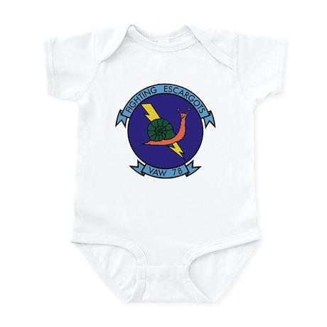 VAW 78 Fighting Escargots Infant Bodysuit