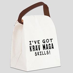 Krav Maga Skills Designs Canvas Lunch Bag