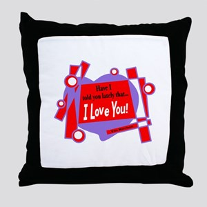 Have I Told You-Van Morrison Throw Pillow