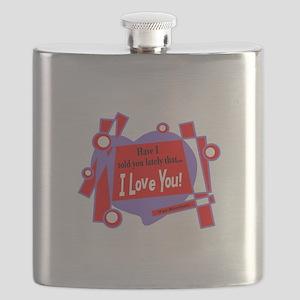 Have I Told You-Van Morrison Flask