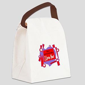 Have I Told You-Van Morrison Canvas Lunch Bag