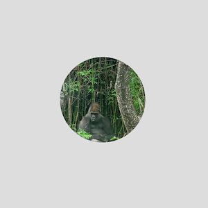 Thinking Gorilla Mini Button