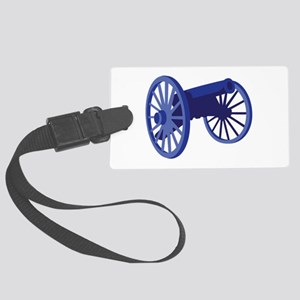 Civil War Cannon Luggage Tag