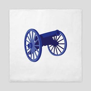 Civil War Cannon Queen Duvet