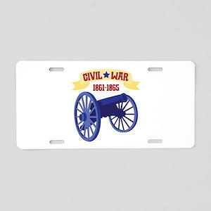 CIVIL*WAR 1861-1865 Aluminum License Plate
