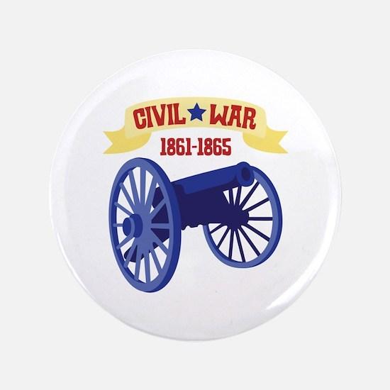 "CIVIL*WAR 1861-1865 3.5"" Button"