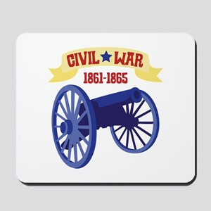 CIVIL*WAR 1861-1865 Mousepad
