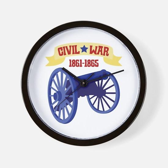 CIVIL*WAR 1861-1865 Wall Clock