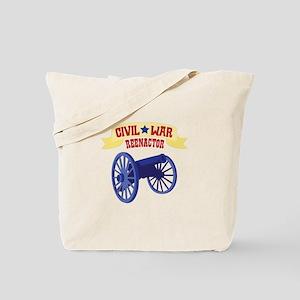 CIVIL * WAR REENACTOR Tote Bag