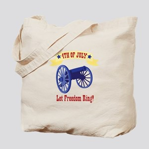 *4th Of July* Let Freedom Ring! Tote Bag