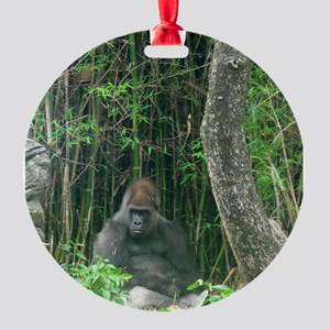 Thinking Gorilla Ornament