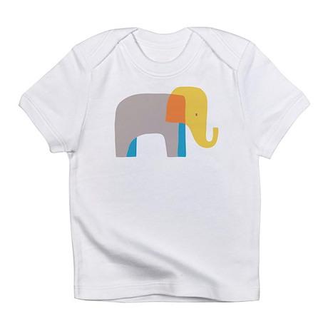 Artsy Elephant Infant T-Shirt