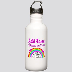 21ST BIRTHDAY Stainless Water Bottle 1.0L