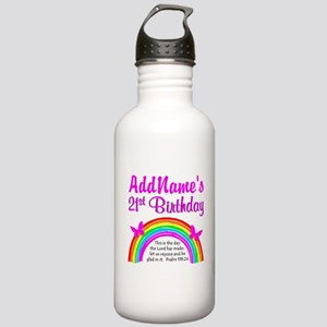 CELEBRATE 21 Stainless Water Bottle 1.0L