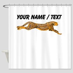 Custom Cheetah Shower Curtain