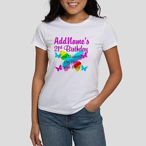 CHRISTIAN 21 YR OLD Women's T-Shirt