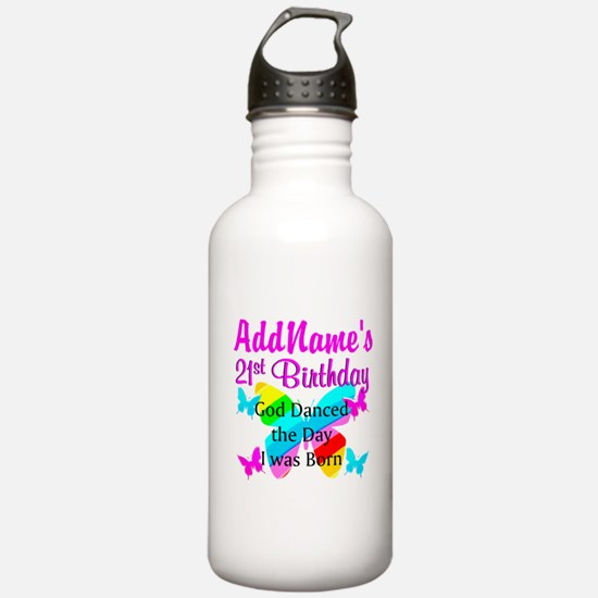 CHRISTIAN 21 YR OLD Water Bottle