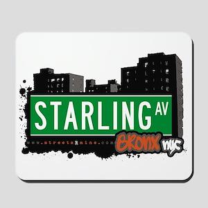 Starling Av, Bronx, NYC  Mousepad