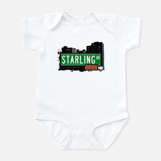 Starling Av, Bronx, NYC  Infant Bodysuit