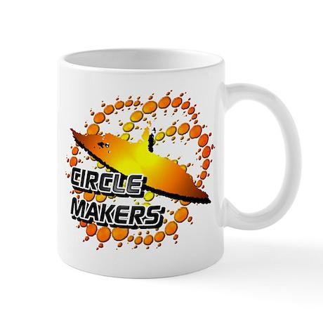 Circle Makers Orange Mug