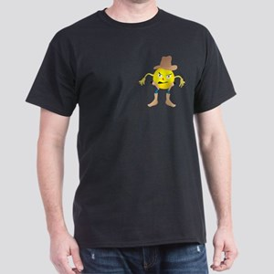 Cowboy Emoticon Dark T-Shirt