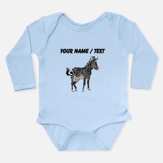 Custom Zebra Body Suit