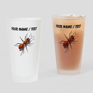 Custom Fire Ant Drinking Glass